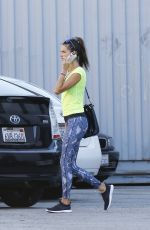 ALESSANDRA AMBROSIO Out in Los Angeles 10/29/2015