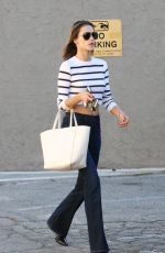 ALESSANDRA AMBROSIO Out Shopping in Los Angeles 11/16/2015
