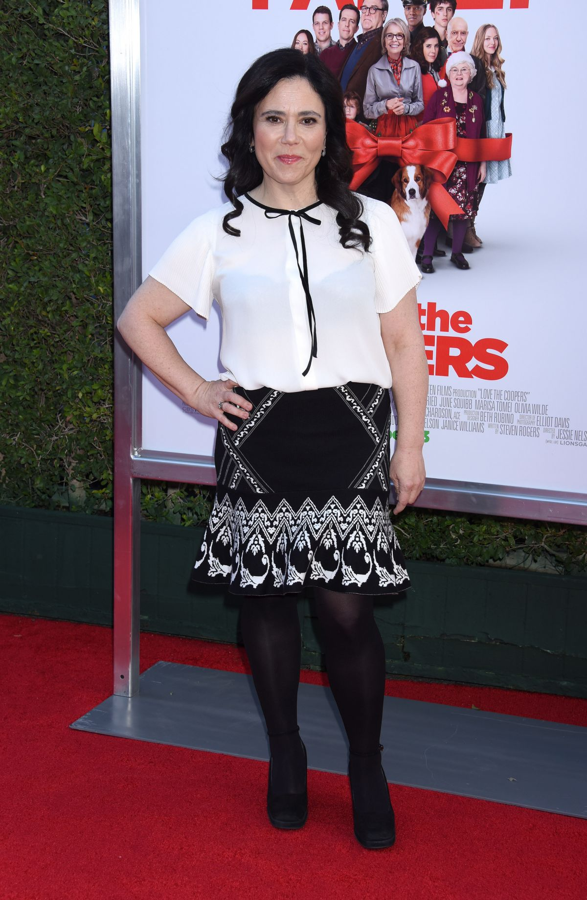 ALEX BORSTEIN at Love the Coopers Premiere in Los Angeles 11/12/2015