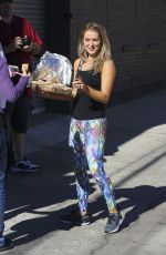 ALEXA VEGA at DWTS Studio in Hollywood 11/19/2015