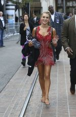 ALEXA VEGA on the Set of Dancing with the Stars in Hollywood 11/24/2015