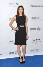 ALEXANDRA DADDARIO at 7th Annual Night of Generosity Gala in Beverly Hills 11/06/2015