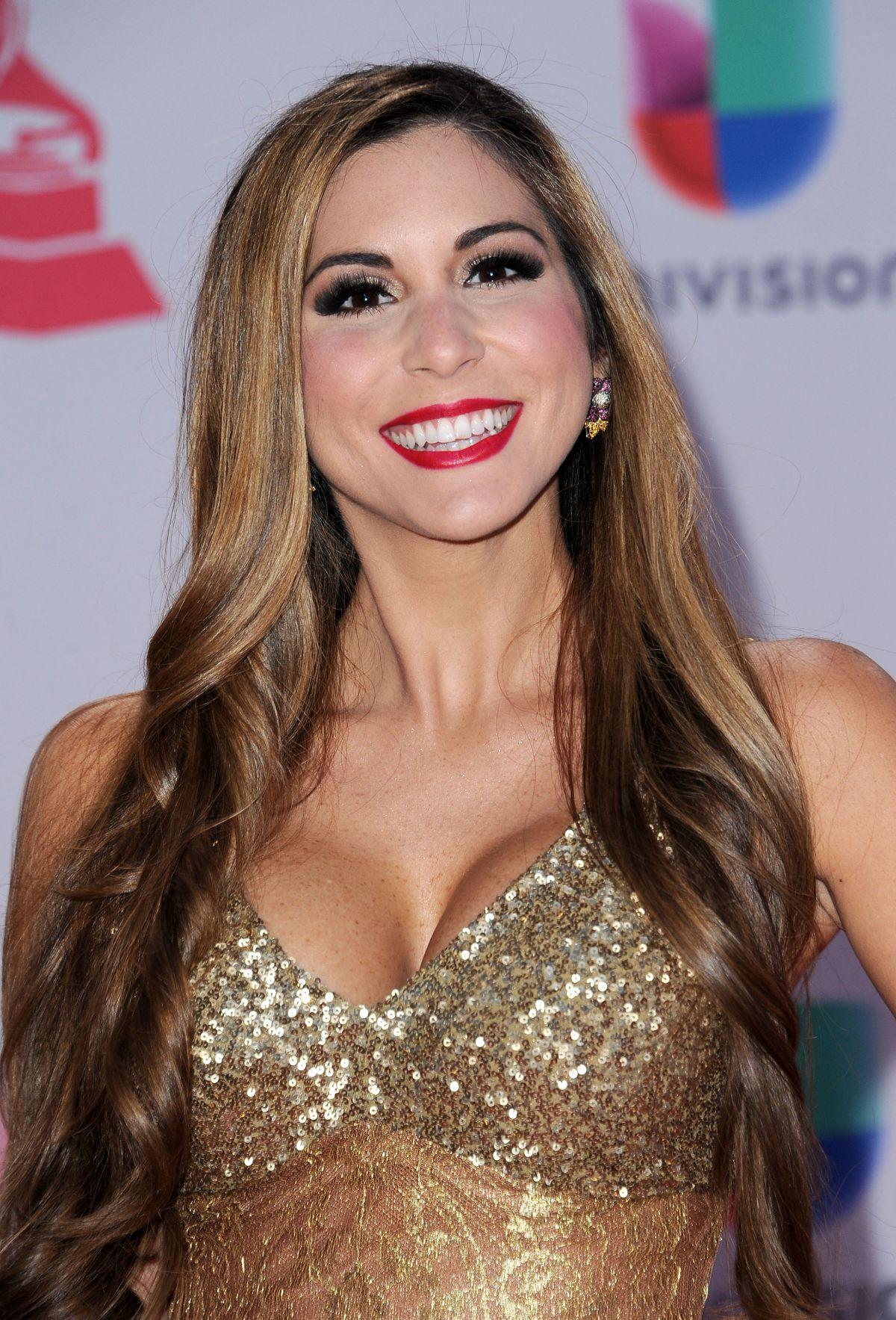 ALEXANDRA OLAVARRIA at 2015 Latin Grammy Awards in Las Vegas 11/18/2015