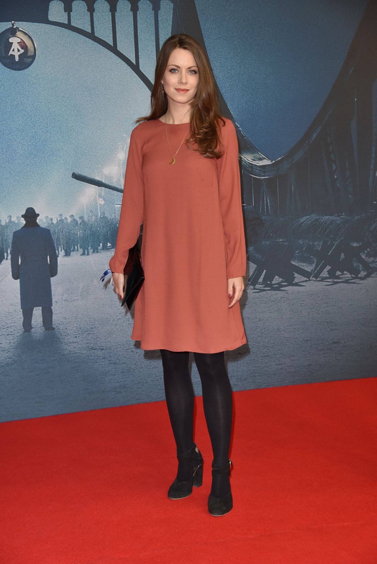 ALICE DWYER at Bridge of Spies Premiere at Zoo Palast in Berlin 11/13/2015