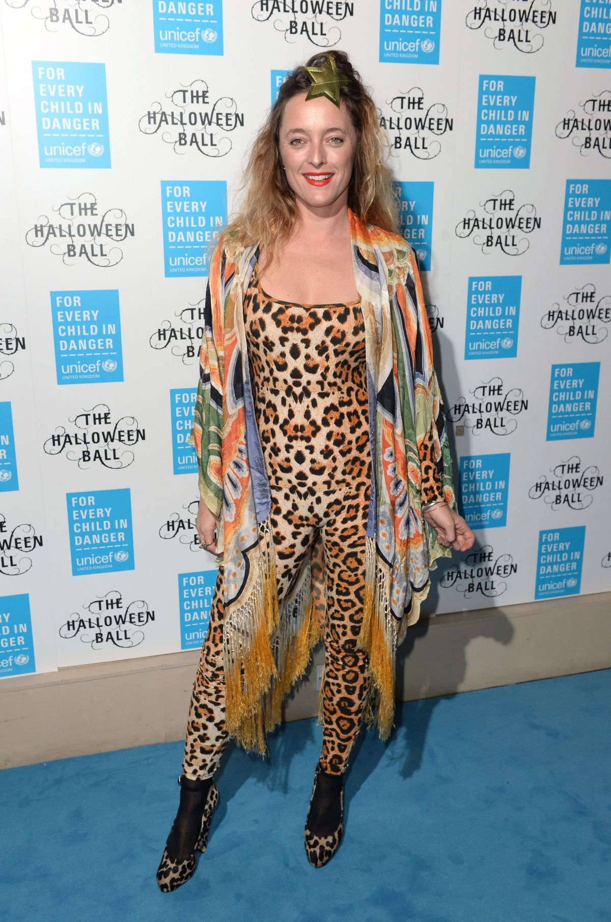 ALICE TEMPERLEY at 2015 Unicef Halloween Ball at One Mayfair in London 10/29/2015