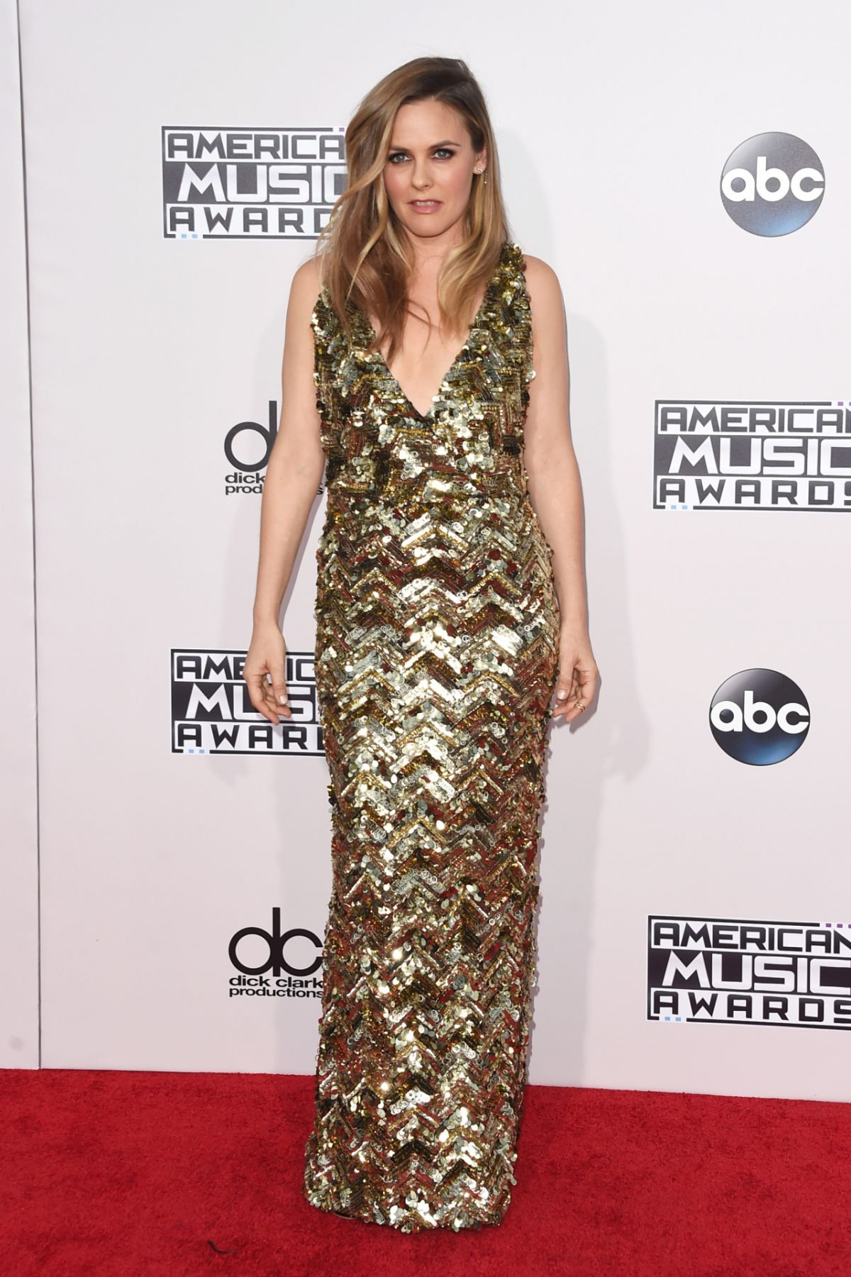 ALICIA SILVERSTONE at 2015 American Music Awards in Los Angeles 11/22/2015