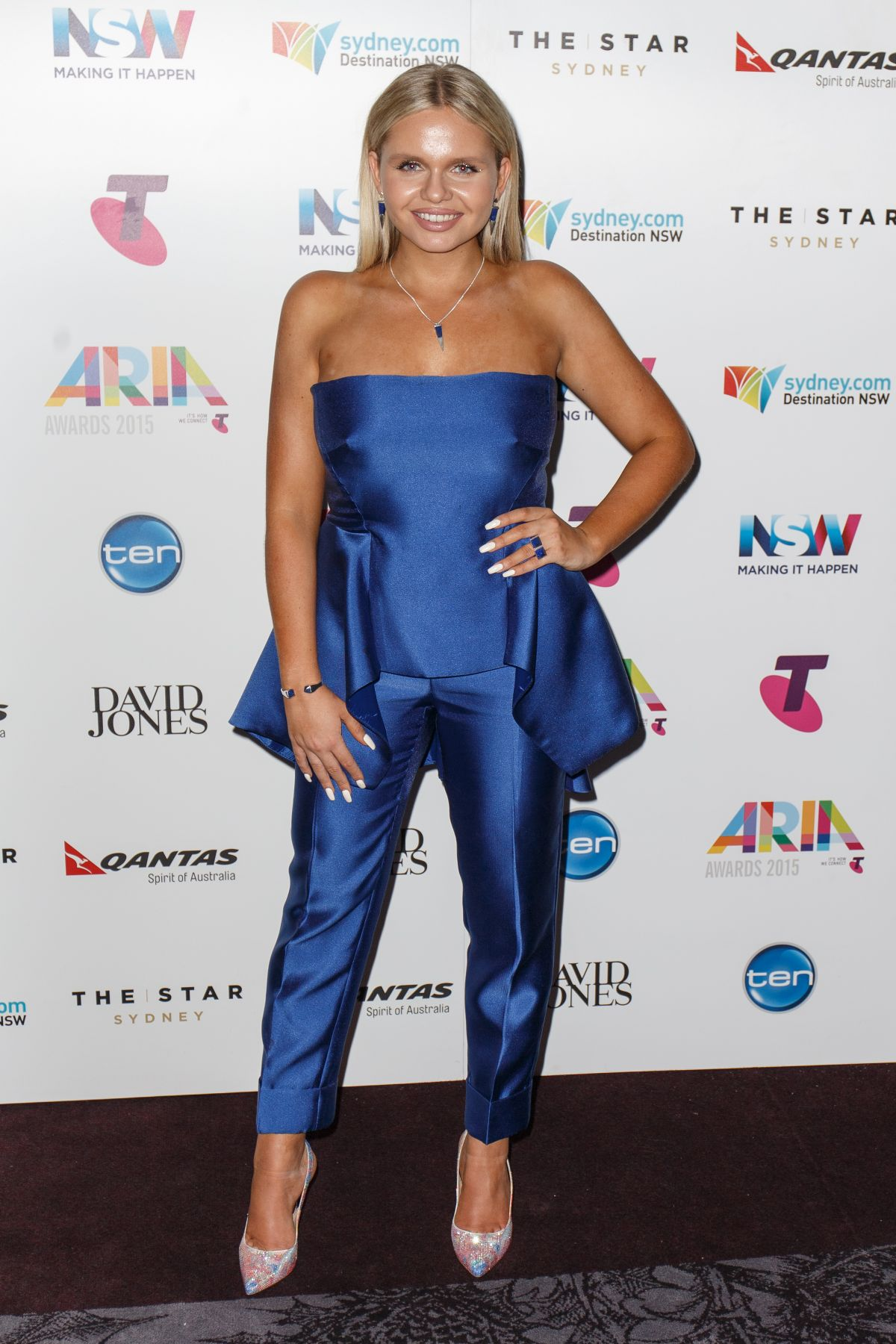 ALLI SIMPSON at 29th Annual Aria Awards 2015 in Sydney 11/26/2015