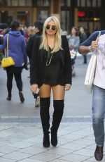 ALLI SIMPSON Shopping at The Grove in West Hollywood 11/16/2015