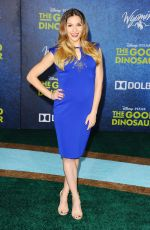 ALLISON HOLKER at The Good Dinosaur Premiere in Hollywood 11/17/2015