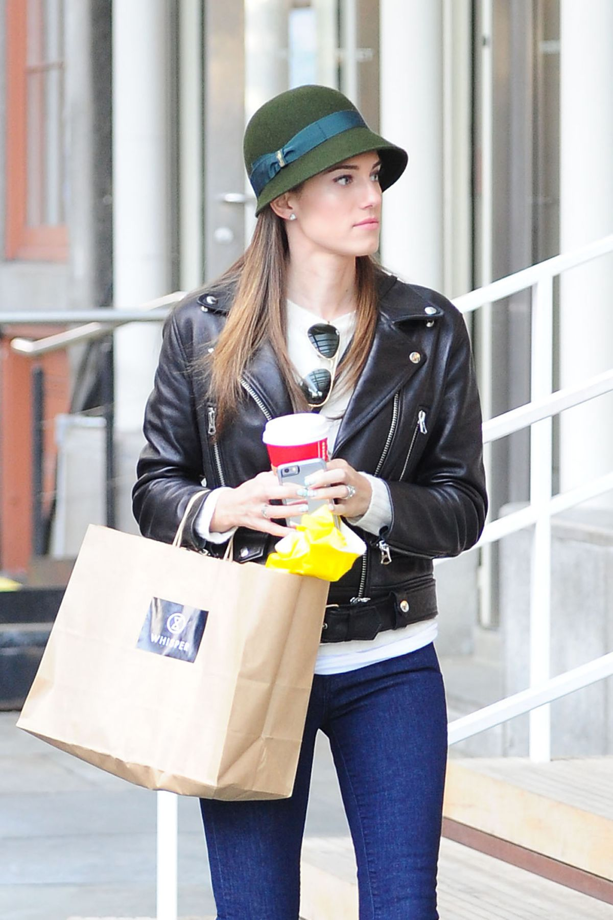 ALLISON WILLIAMS Shopping  at Seaport District and Fashion Boutique Seaport Studios in New York 11/22/2015