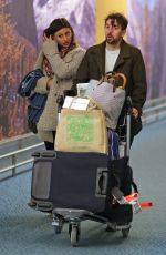 ALY MICHALKA at Vancouver International Airport 11/29/2015