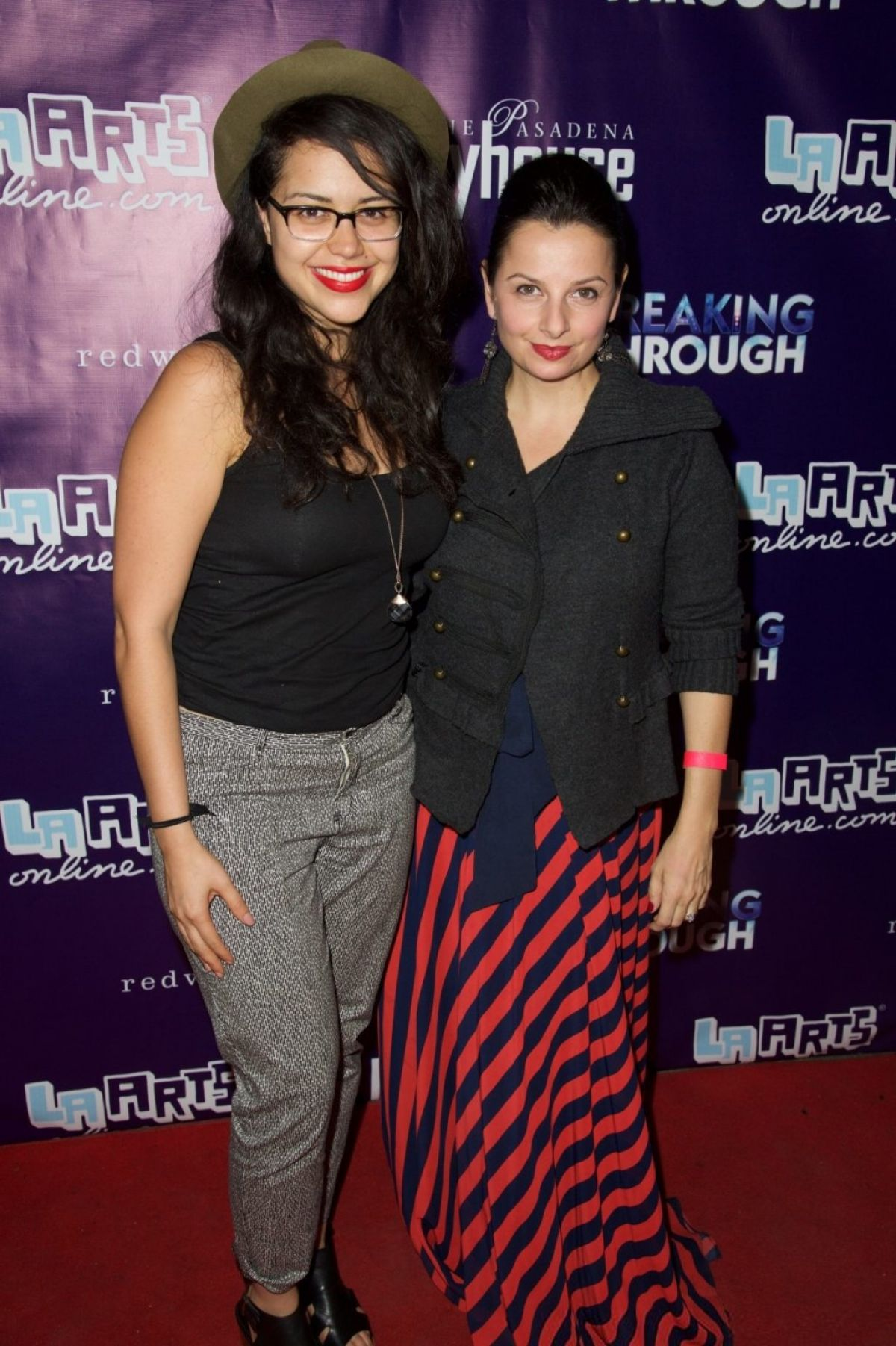 ALYSSA DIAZ at Breaking Trough  Opening Night at Pasadena Playhouse 11/01/2015