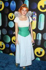 AMANDA AJ MICHALKA at Just Jared Halloween Party in Hollywood 10/31/2015