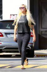 AMANDA BYNES Arrives at CVS Pharmacy in Los Angeles 10/31/2015