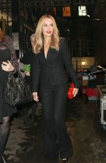 AMANDA HOLDEN Leaves ITV Gala in London 11/17/2015