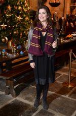 AMANDA LAMB at Hogwarts in the Snow Launch at Warner Bros. Studio Tour London in Watford 11/12/2015