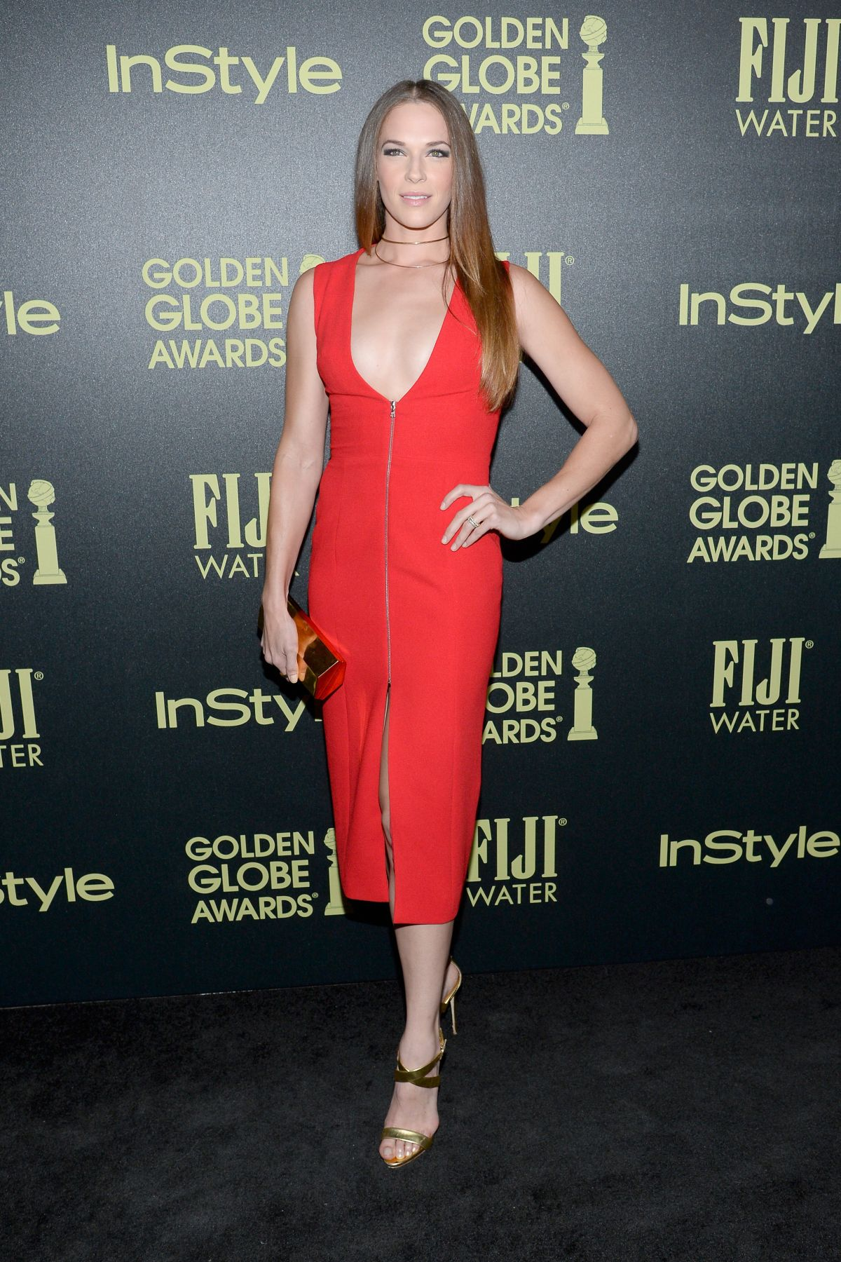 AMANDA RIGHETTI at hfpa and Instyle Celebrate 2016 Golden Globe Award Season in West Hollywood 11/17/2015