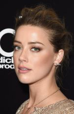 AMBER HEARD at 2015 Hollywood Film Awards in Beverly Hills 11/01/2015