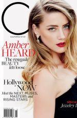 AMBER HEARD im C Magazine, November 2015 Issue