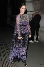 AMBER LE BON Arrives at Tunnel Of Love Fundraiser in London 11/11/2015
