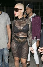 AMBER ROSE at Ace of Diamonds in Los Angeles 11/10/2015