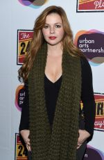 AMBER TAMBLYN at 24 Hour Plays on Broadway Gala After Party in New York 11/16/2015