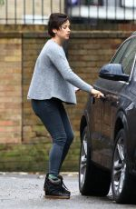 AMELIA WARNER Out and About in Notting Hill 11/24/2015