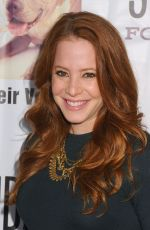 AMY DAVIDSON at Stand Up for Pits Comedy Benefit in Hollywood 11/08/2015