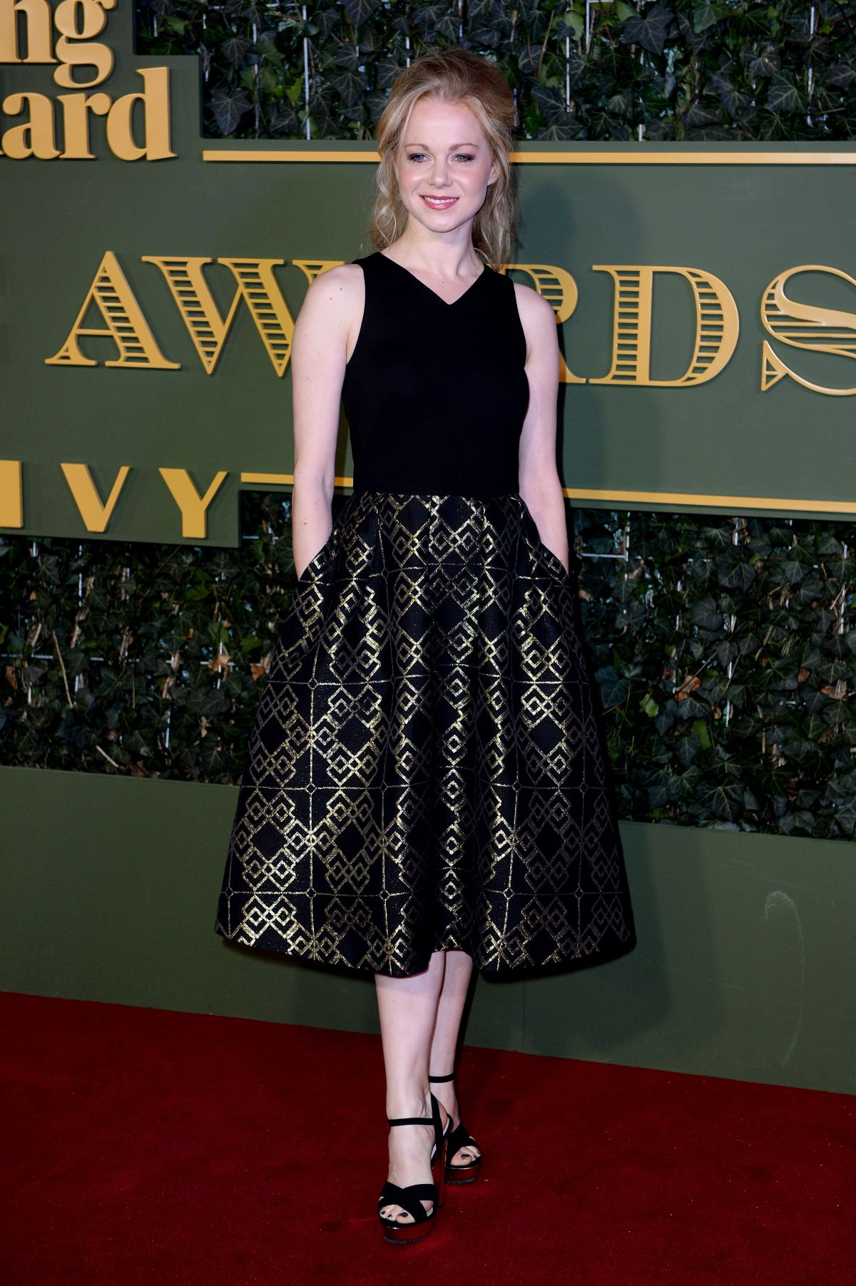 AMY LENNOX at Evening Standard Theatre Awards in London 11/22/2015