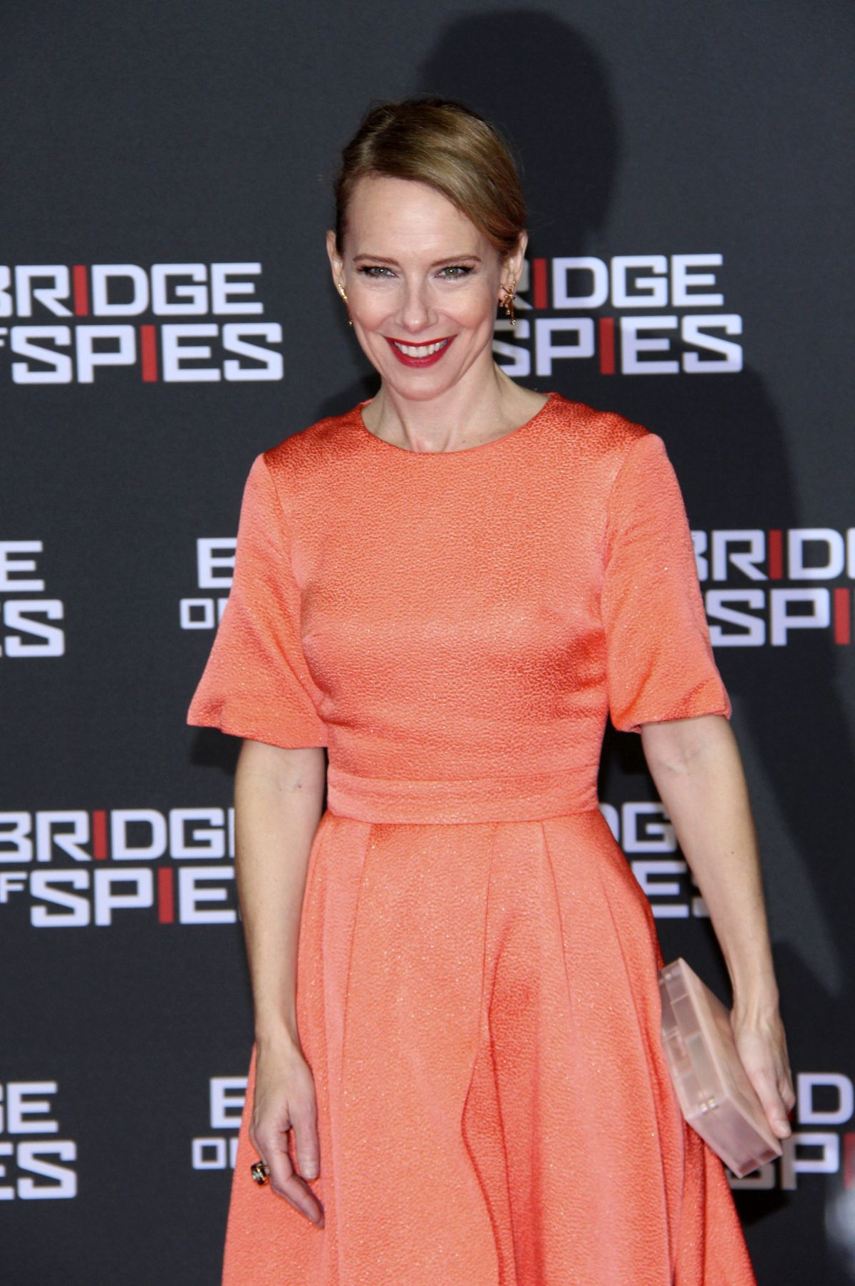 AMY RYAN at Bridge of Spies Premiere at Zoo Palast in Berlin 11/13/2015