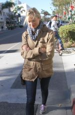 AMY SMART Out and About in Beverly Hills 11/16/2015
