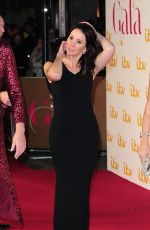 ANDREA MCLEAN at ITV 60th Anniversary Gala in London 11/19/2015