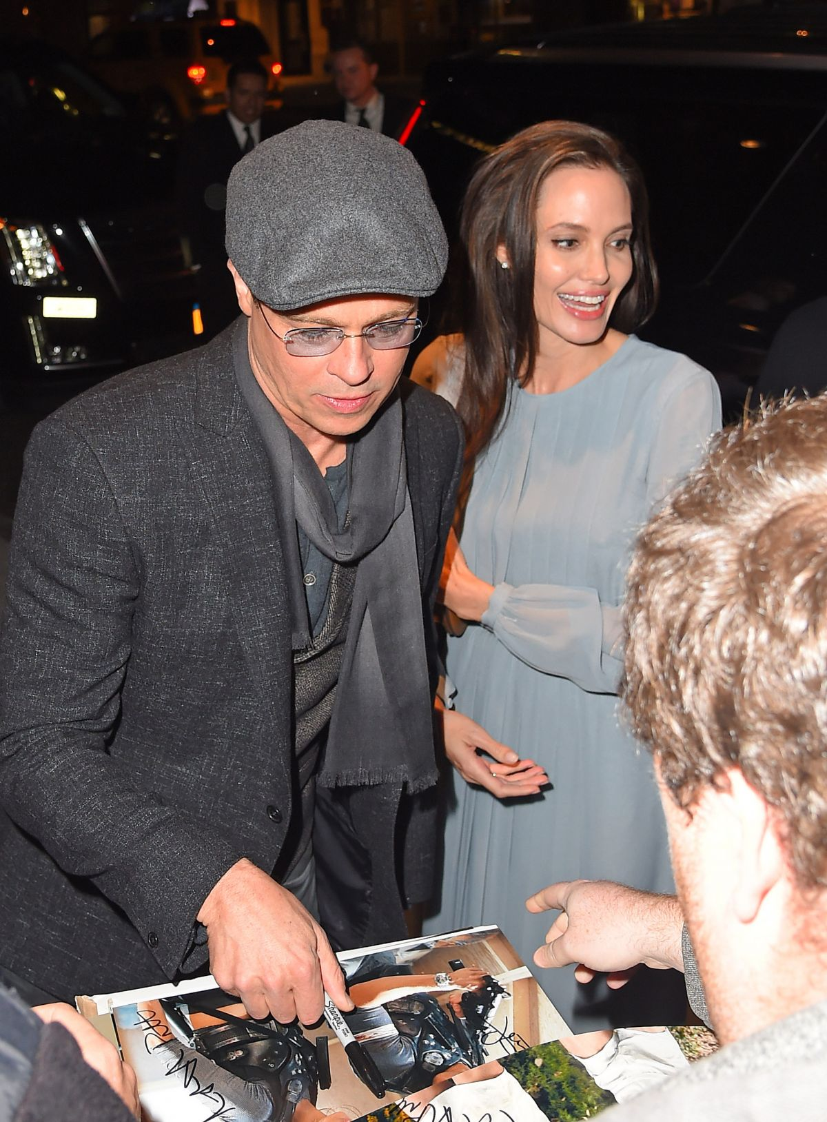 ANGELINA JOLIE Arrives at DGA Theater in New York 11/03/2015