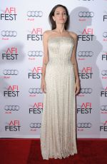 ANGELINA JOLIE at AFI Fest 2015 Opening Night Gala in Hollywood 11/05/2015