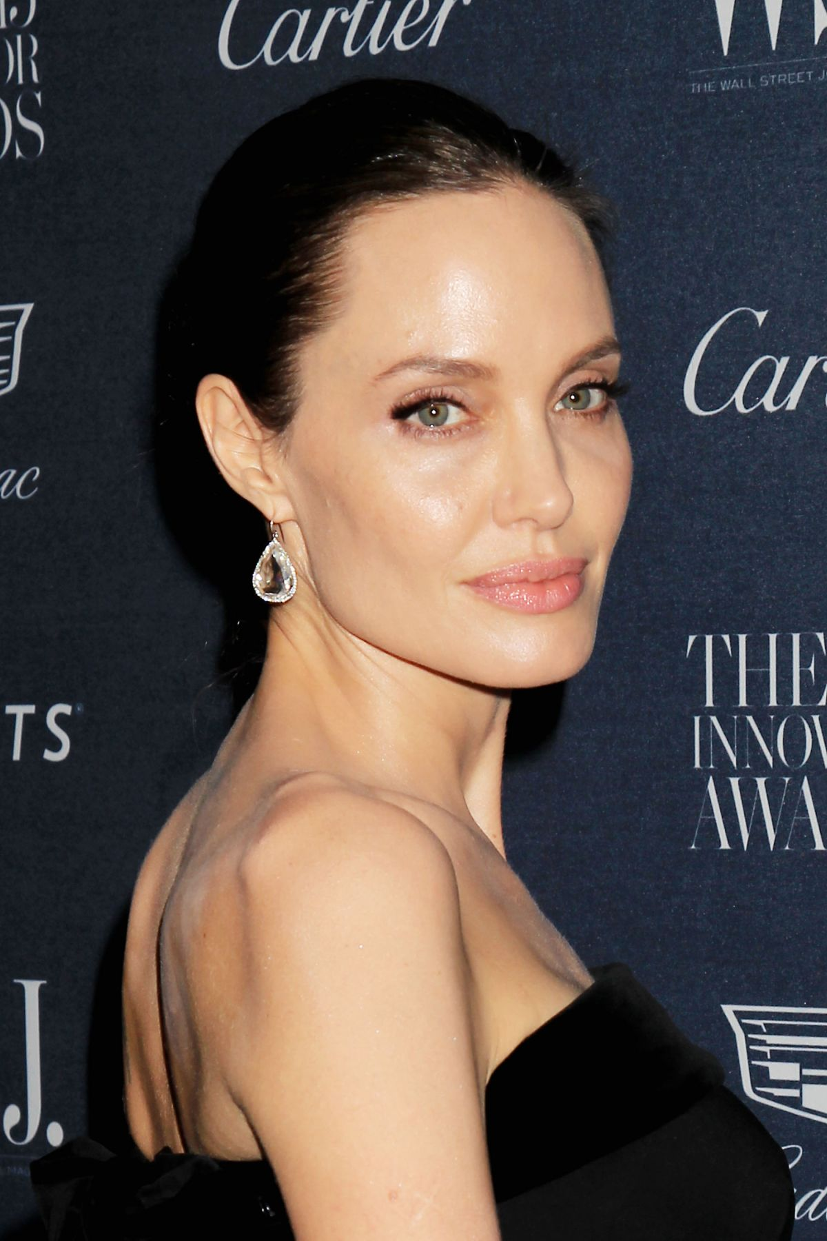 ANGELINA JOLIE at WSJ Magazine Innovator Awards 2015 in New York 11/04 ...