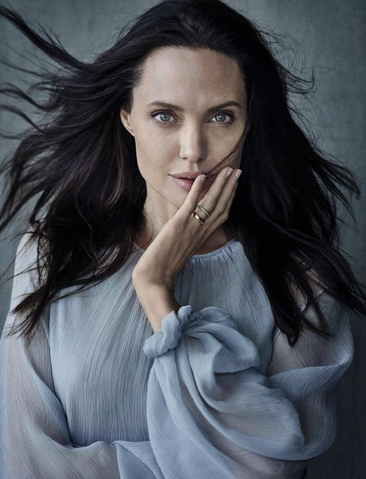 ANGELINA JOLIE by Peter Lindbergh for Vanity Fair Magazine, November 2015 Issue