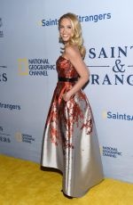 ANNA CAMP at Saints and Strangers Premiere in Beverly Hills 11/09/2015