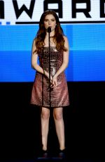 ANNA KENDRICK at 2015 American Music Awards in Los Angeles 11/22/2015