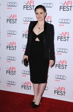 ANNA PAQUIN at Concussion Premiere at 2015 AFI Fest in Hollywood 11/10/2015