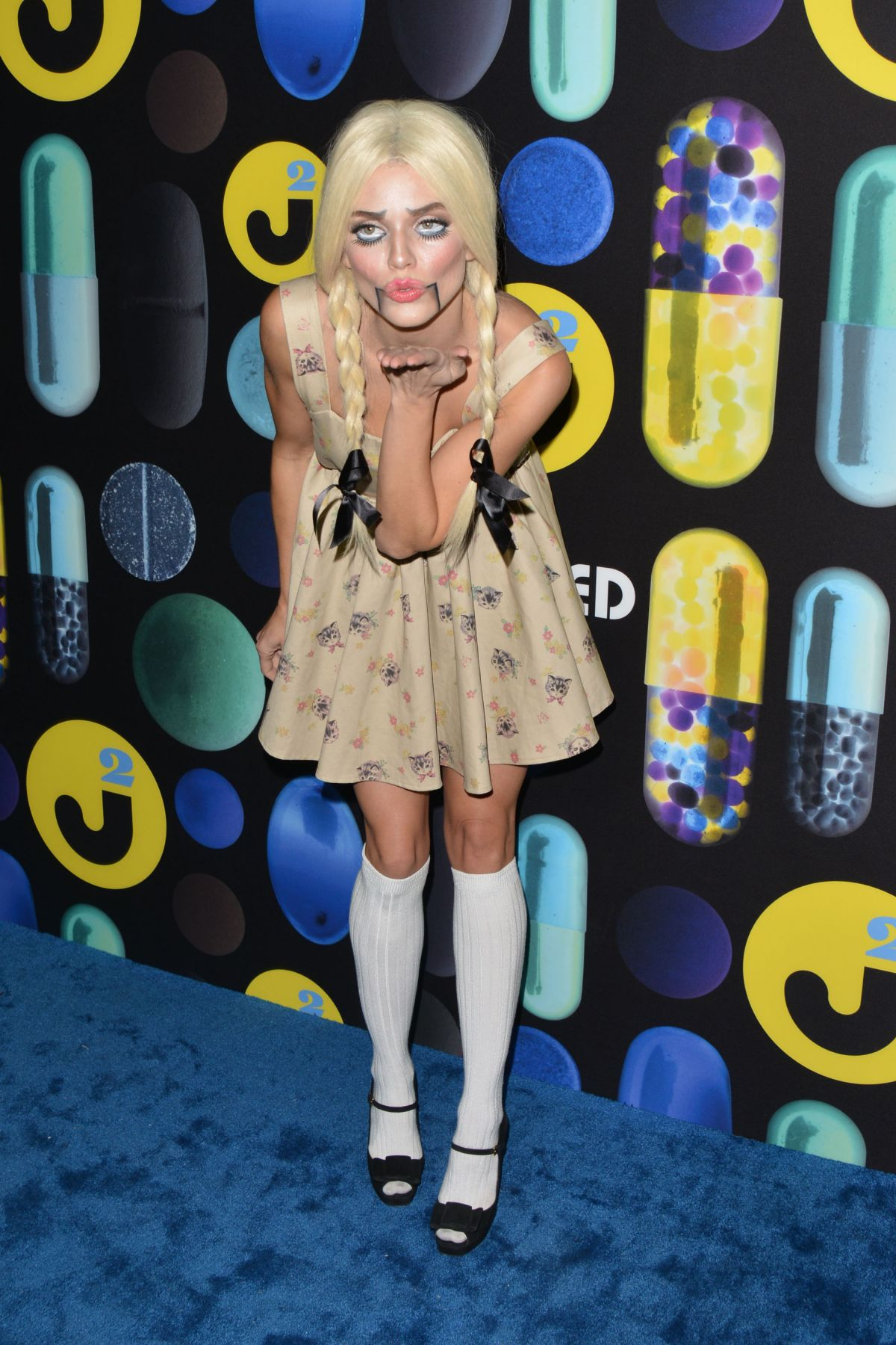 ANNALYNNE MCCORD at Just Jared Halloween Party in Hollywood 10/31 ...