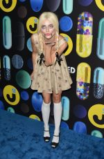 ANNALYNNE MCCORD at Just Jared Halloween Party in Hollywood 10/31/2015