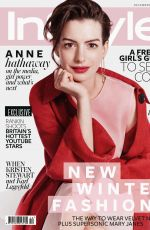 ANNE HATHAWAY in Instyle Magazine, UK December 2015 Issue