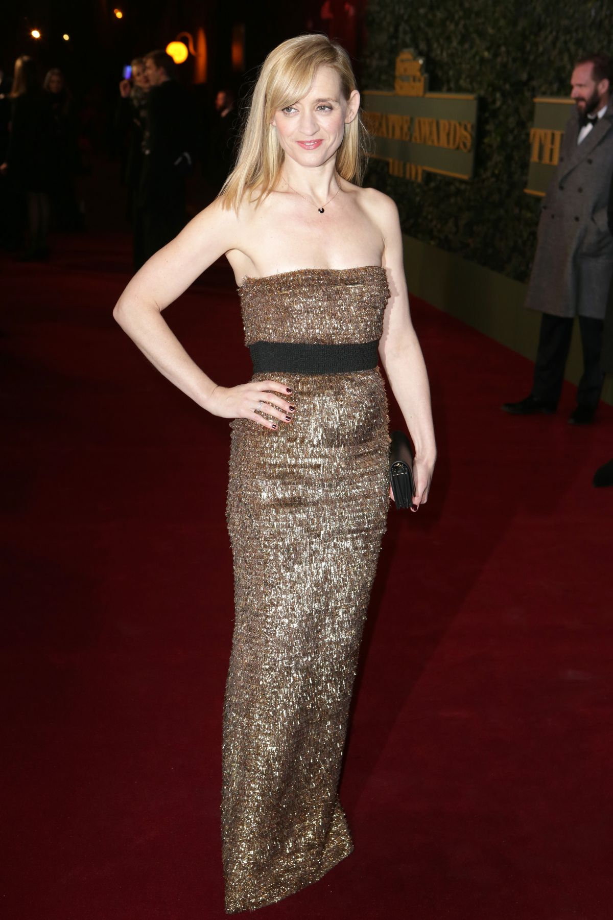 ANNE-MARIE DUFF at Evening Standard Theatre Awards in London 11/22/2015