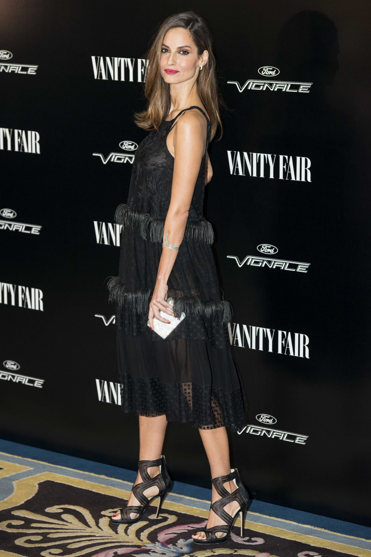 ARIADNE ARTILES at Vanity Fair Personality of the Year Gala in Madrid 11/16/