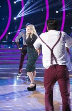 ARIANA GRANDE and MEGHAN TRAINOR at Dancing with the Stars 11/23/2015