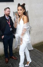 ARIANA GRANDE Arrives at BBC 1 Studios in London 11/04/2015
