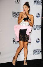 ARIANA GRANDE at 2015 American Music Awards in Los Angeles 11/22/2015