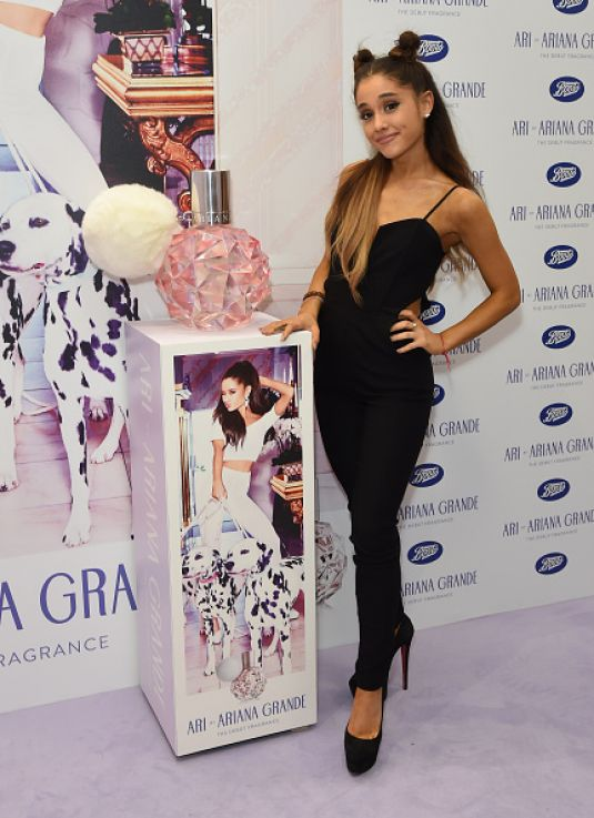 ARIANA GRANDE at Ari By Ariana Grande Launch Party at Boots in Londom 11/04/2015