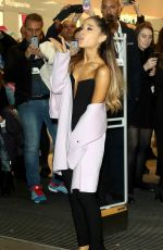 ARIANA GRANDE Leaves a Launch of Ari By Ariana Grande 11/04/2015