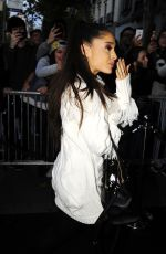 ARIANA GRANDE Night Out in Madrid 11/05/2015